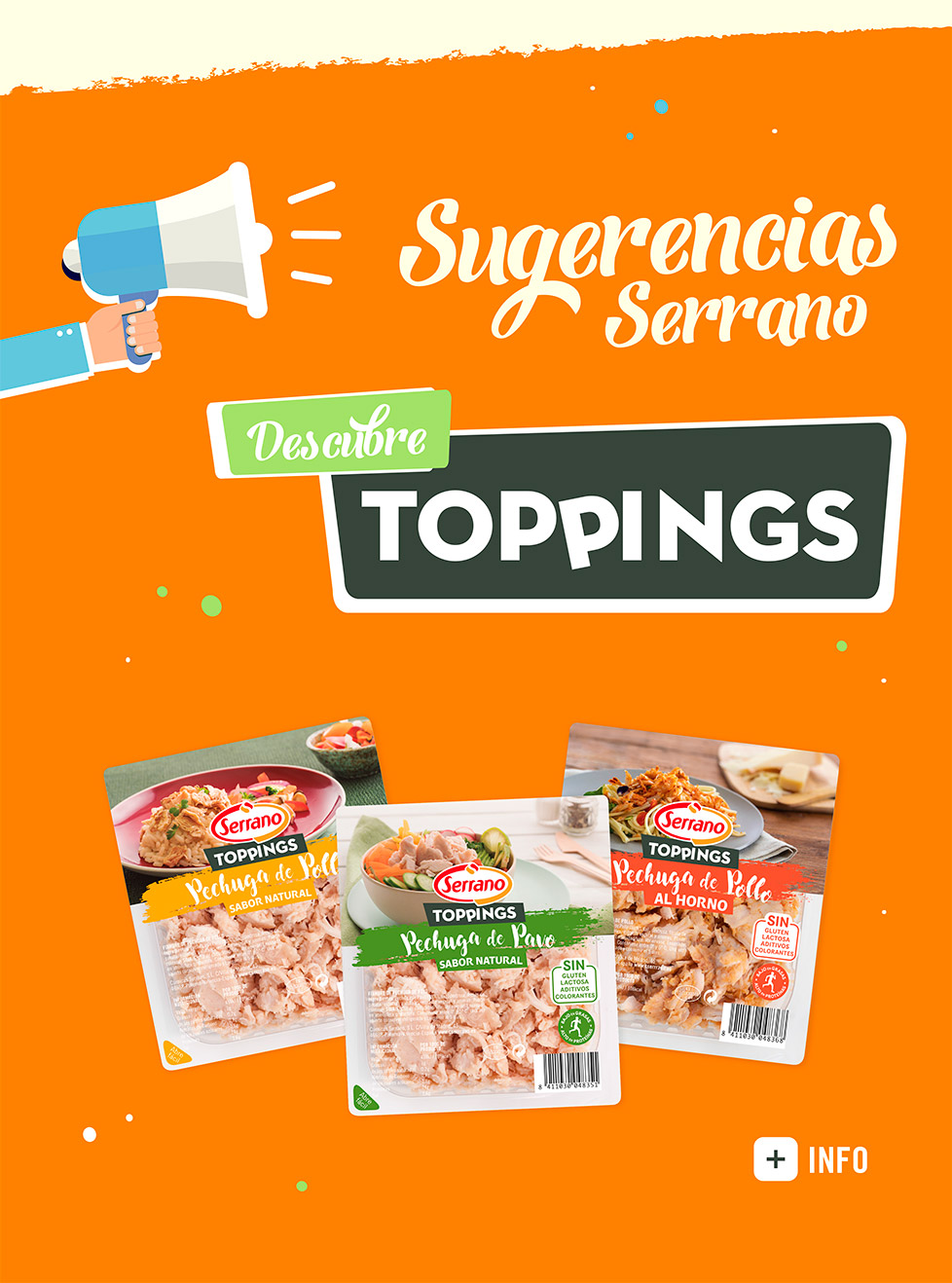 Topping Serrano