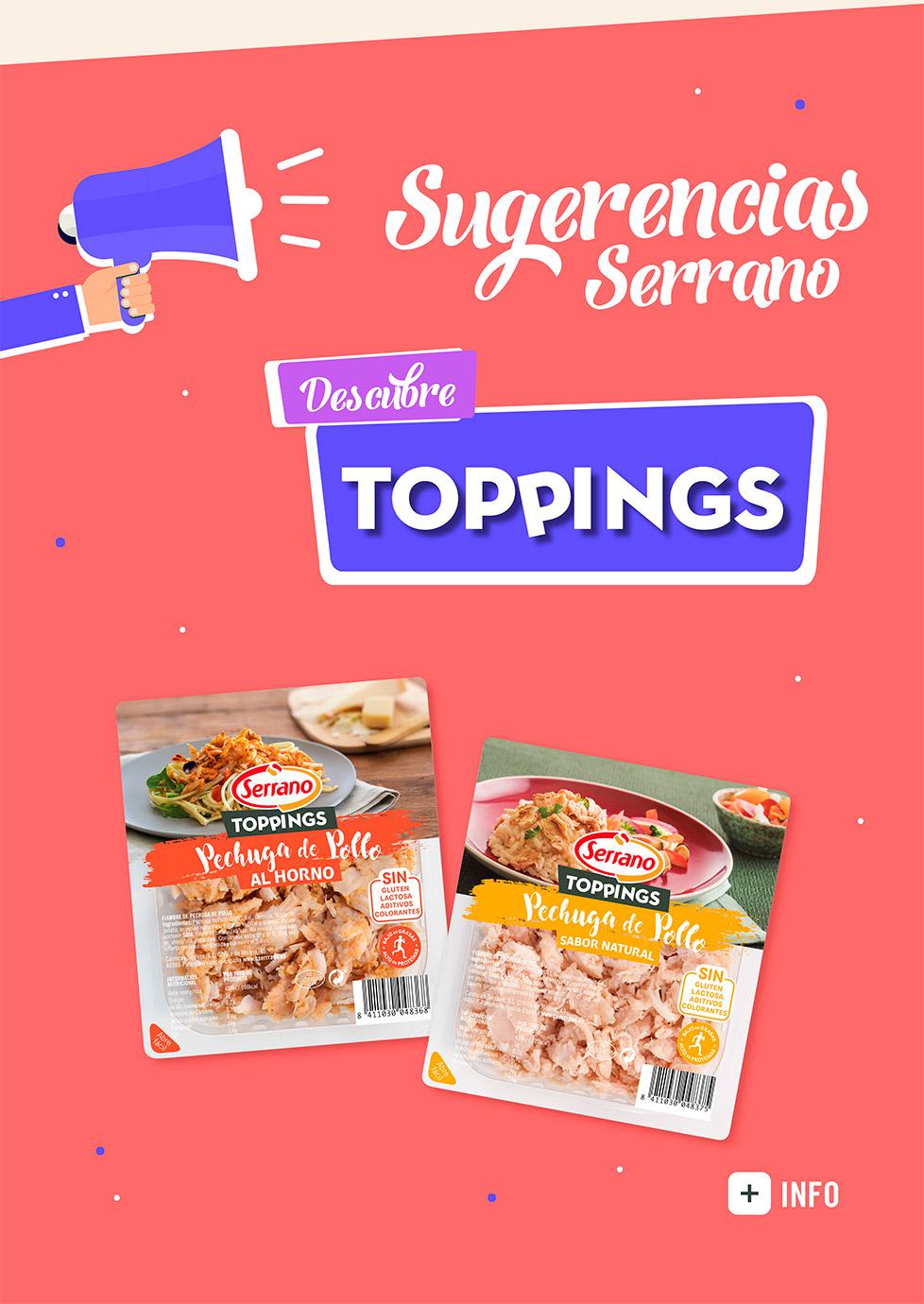 Toppings Serrano