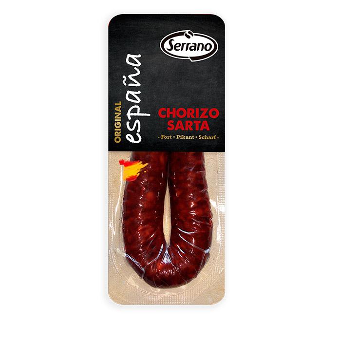 Chorizo sarta dulce curado