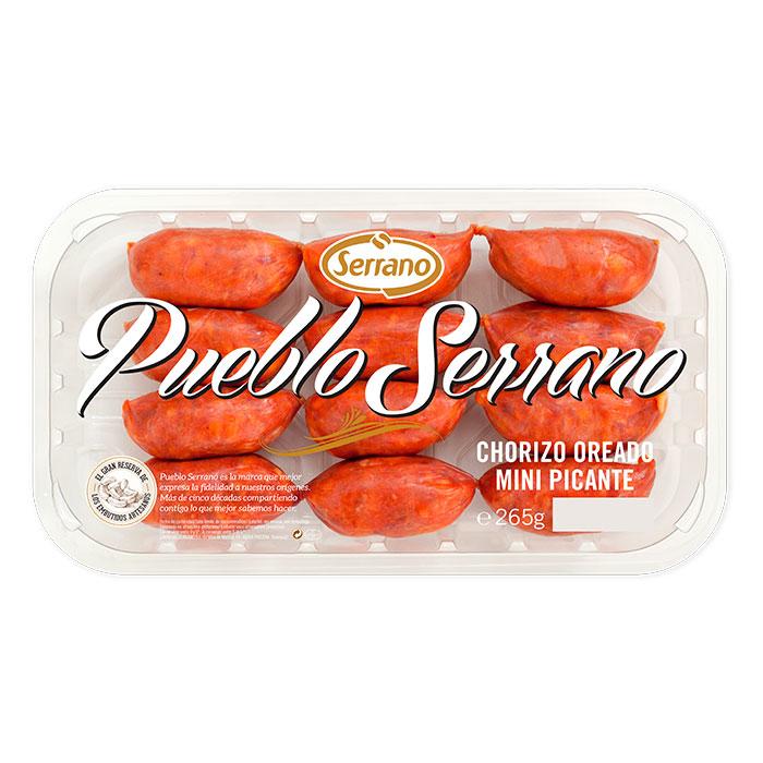Chorizo oreado mini picante Pueblo Serrano