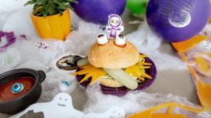 Burguer Pavo y Pollo con Espinacas y Queso