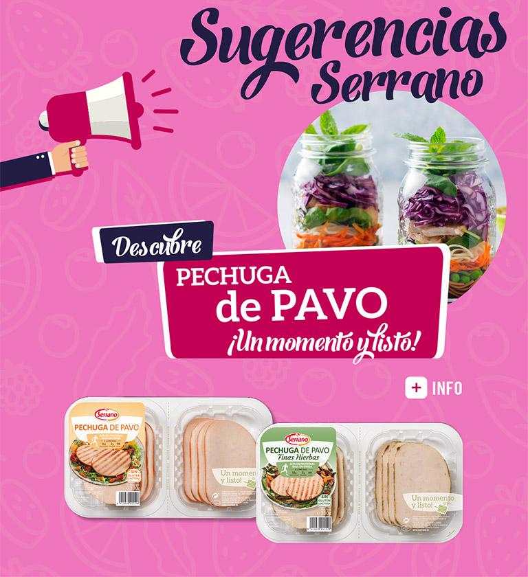 Sugerencias Serrano Pechuga de Pavo