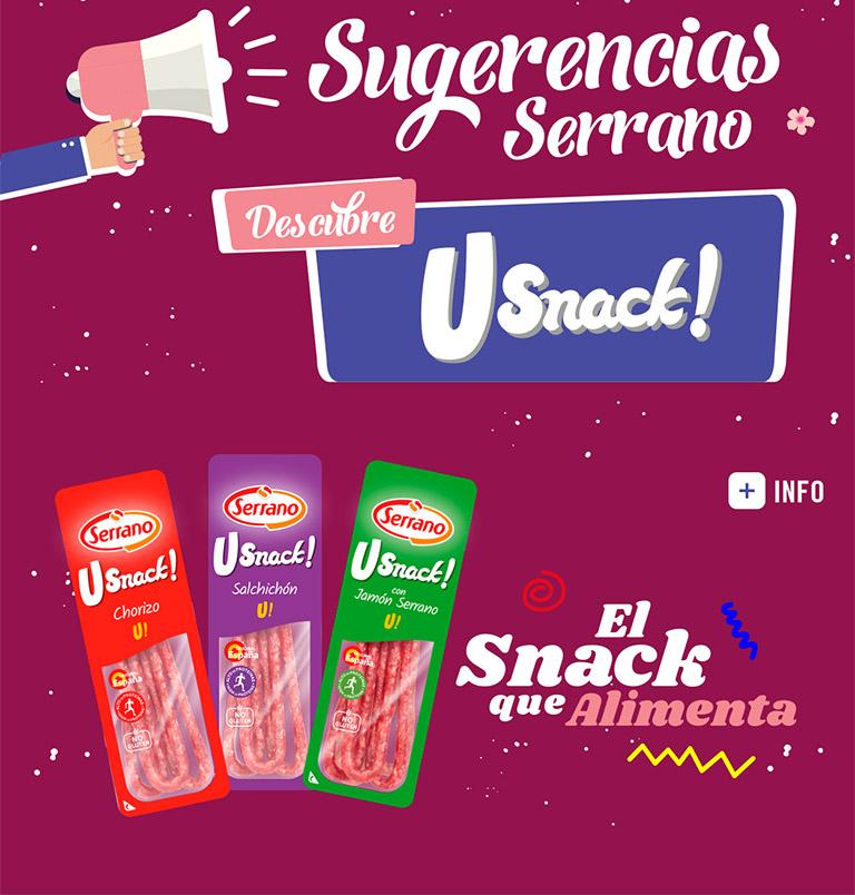 Sugerencias Serrano Usnacks