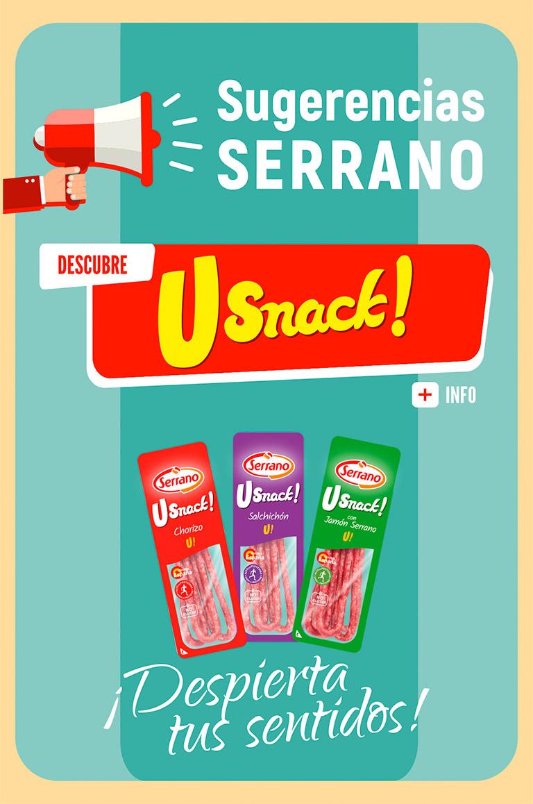 Sugerencia Serrano Usnacks