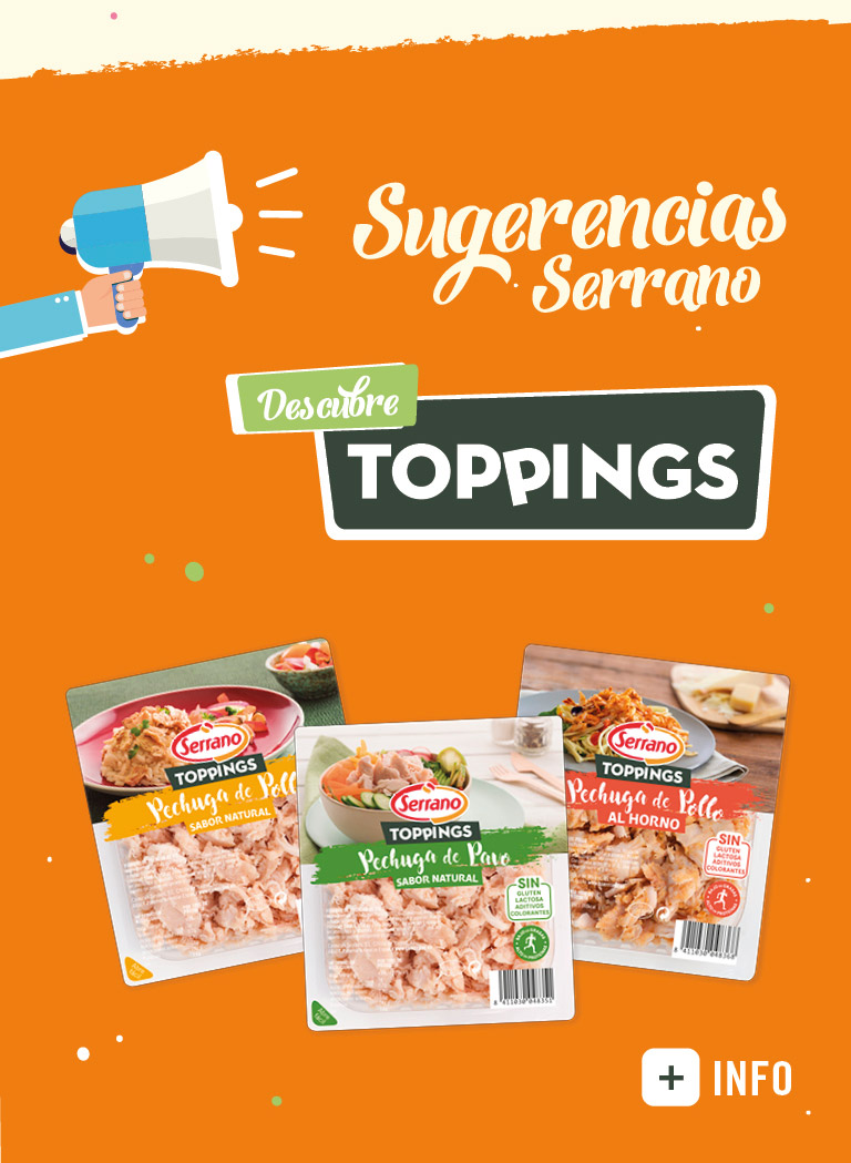 Sugerencias Srrano - Toppings
